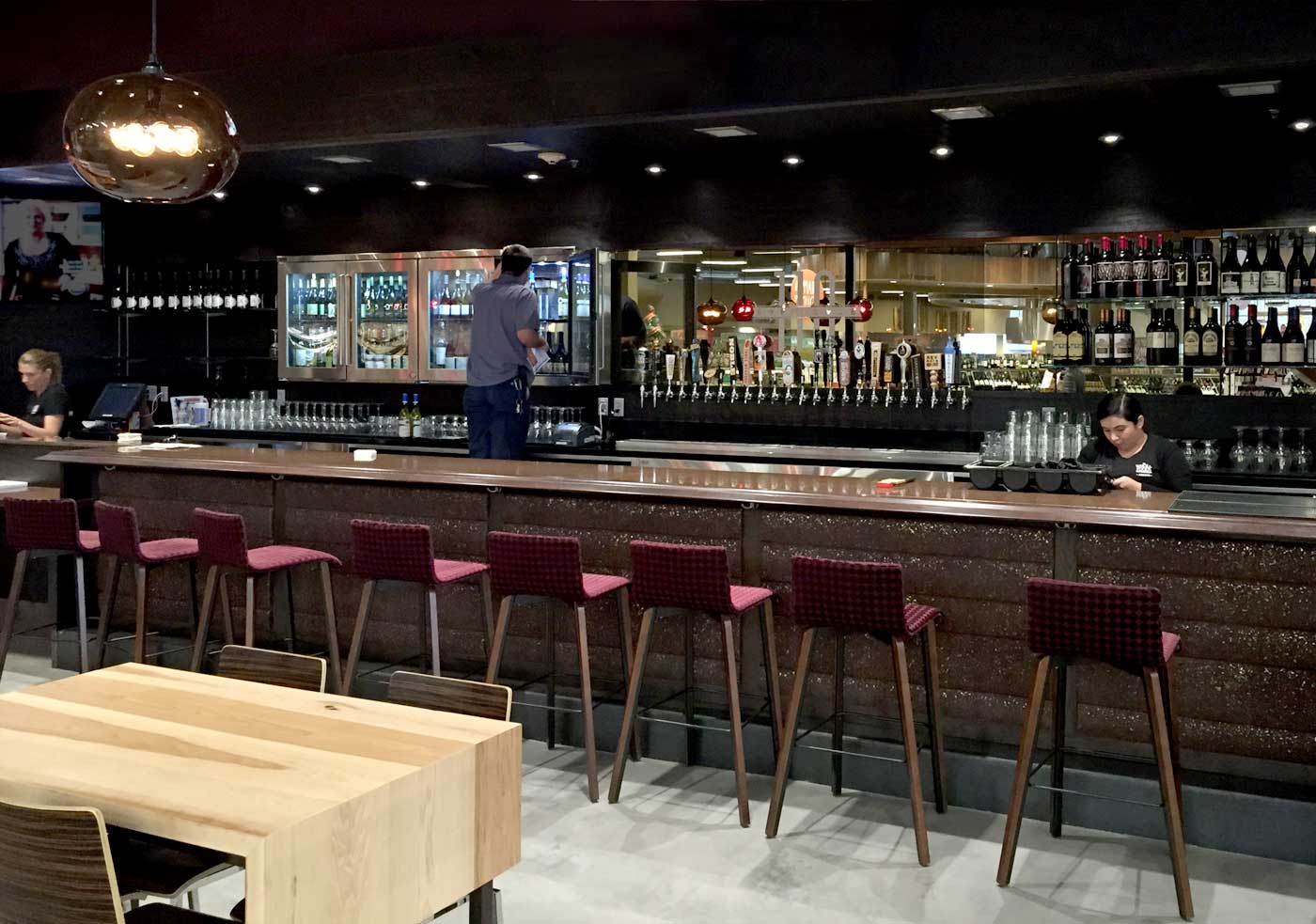 110 bellevue restaurant and bar opens at whole foods for Food bar in restaurant