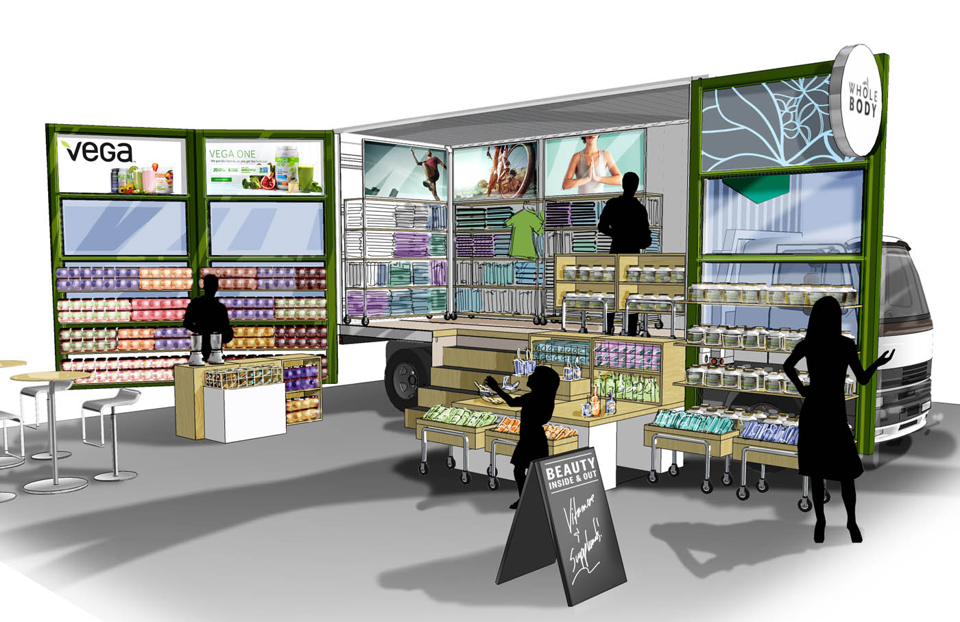 Whole Foods Market Food Truck Concept Dl English Design