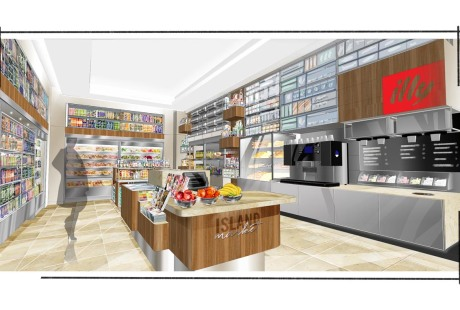 Island Hotel Market Place Rendering