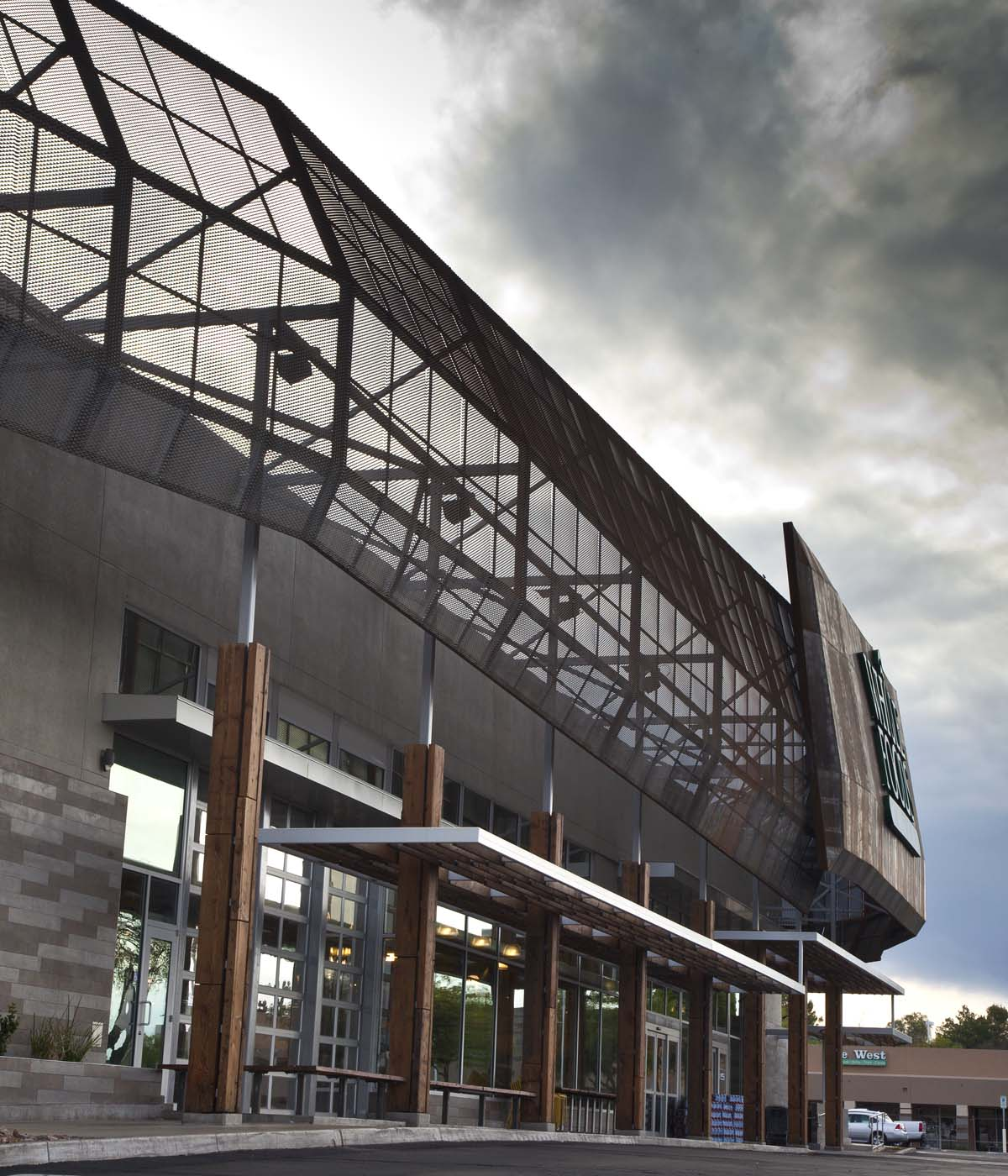 Exterior Storefront Design