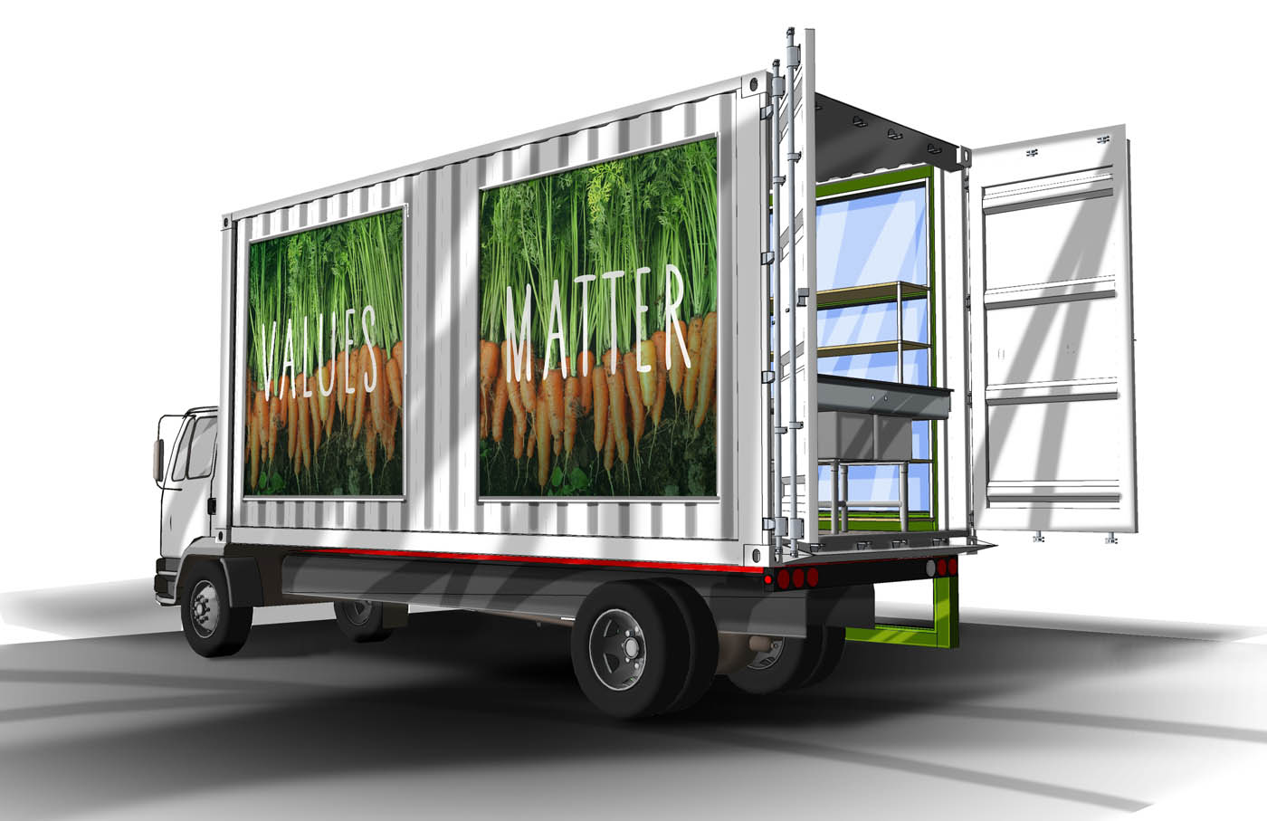 Build A Truck >> Whole Foods Market Food Truck Concept - DL English Design | DL English Design